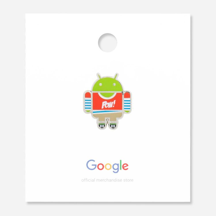 Android Geek Pin $5.60