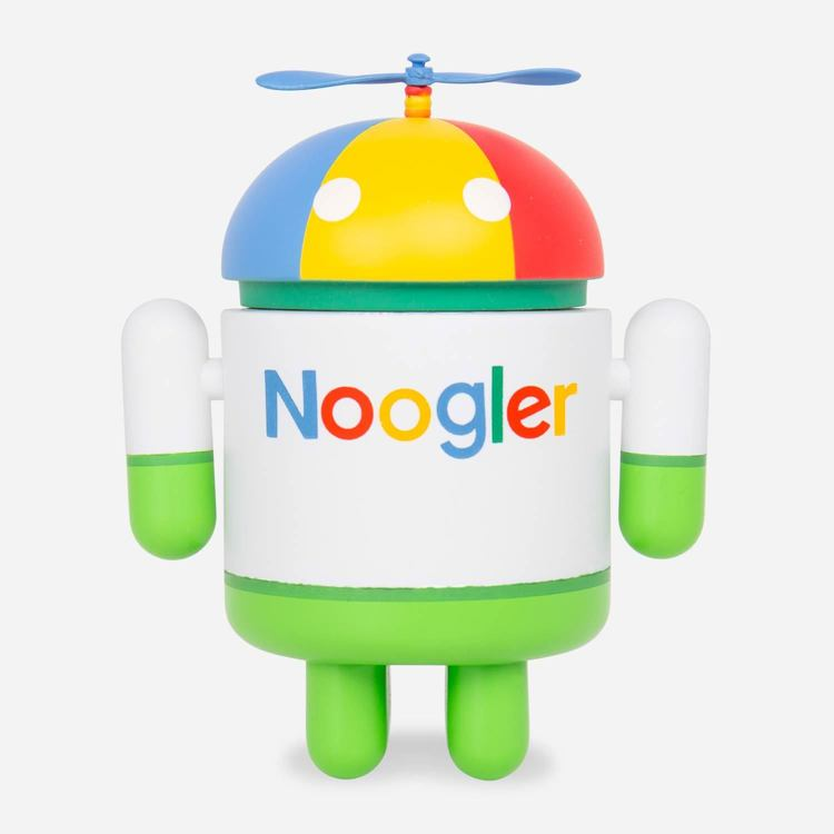 Review Of Noogler Android Figure $16.00