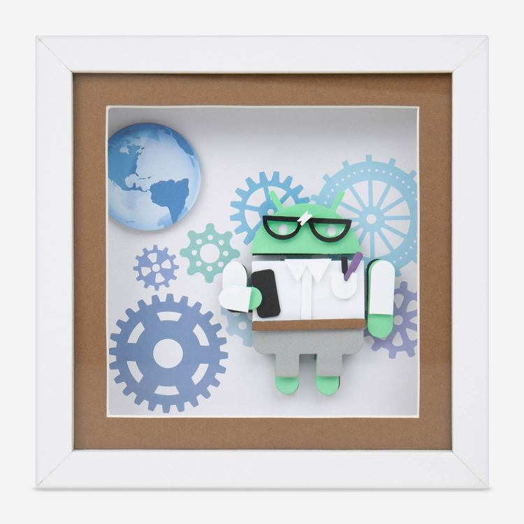 Review Of Android Techie 3D Framed Art $20.00