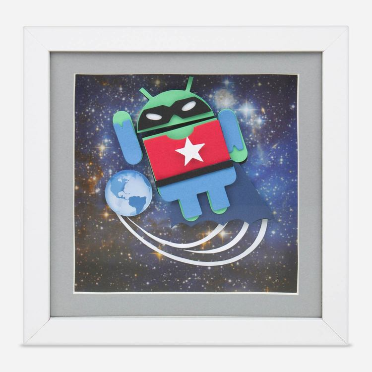 Review Of Android Super Hero 3D Framed Art $20.00