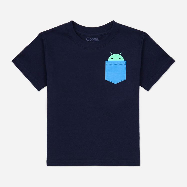 Review of Android Pocket Toddler Tee Navy $23.00