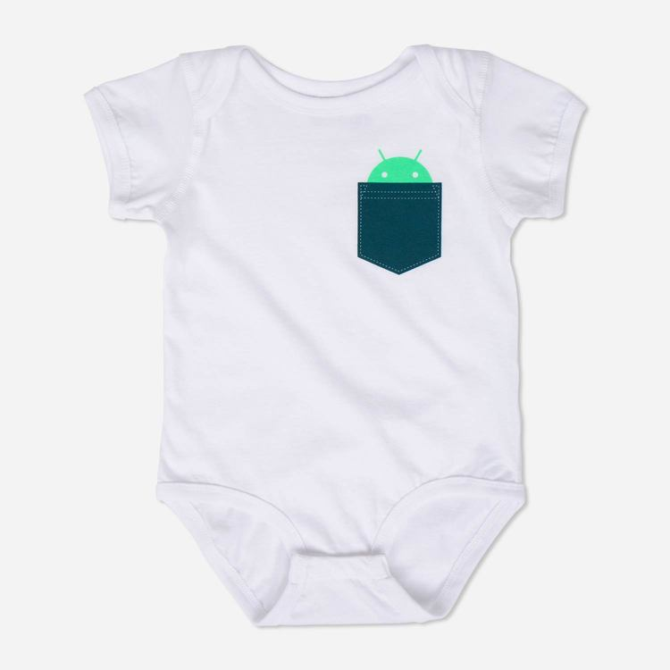 Review of Android Pocket Onesie White $22.00