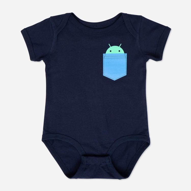 Review of Android Pocket Onesie Navy $22.00