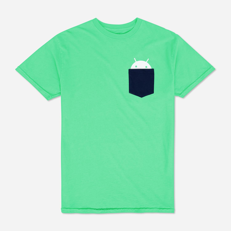 Review of Android Pocket Youth Tee Green $25.00