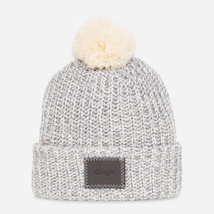 Review of Google Heathered Pom Beanie $15.00