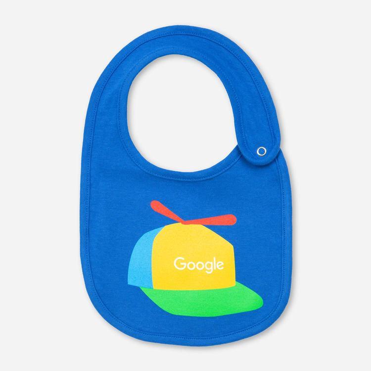 Google Cappy Bib Blue af715cc576c5