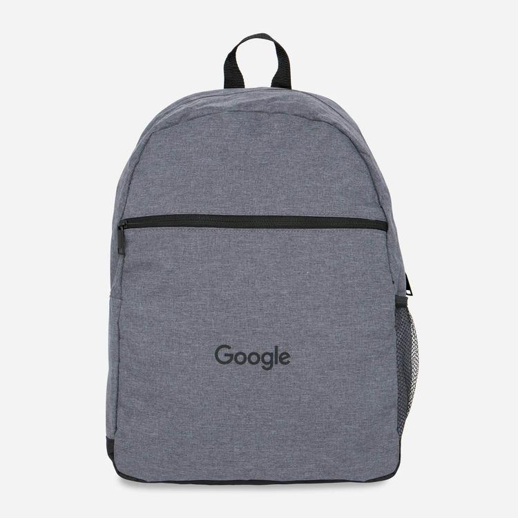 696ec8c45ae5 Google Flat Front Bag Grey