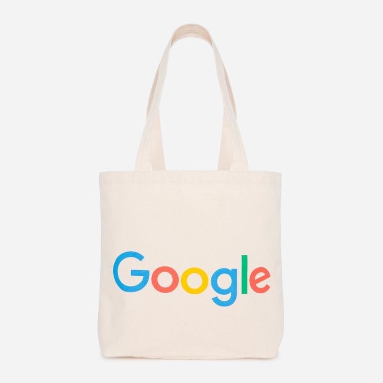 Google Large Tote Canvas