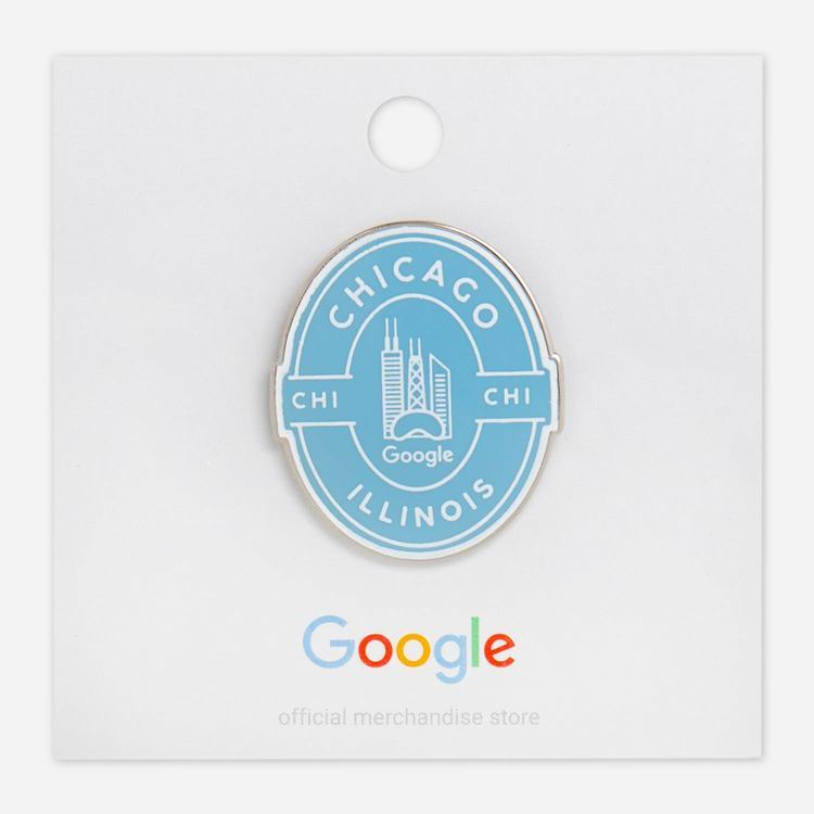 Review Of Google Chicago Campus Lapel Pin $6.00