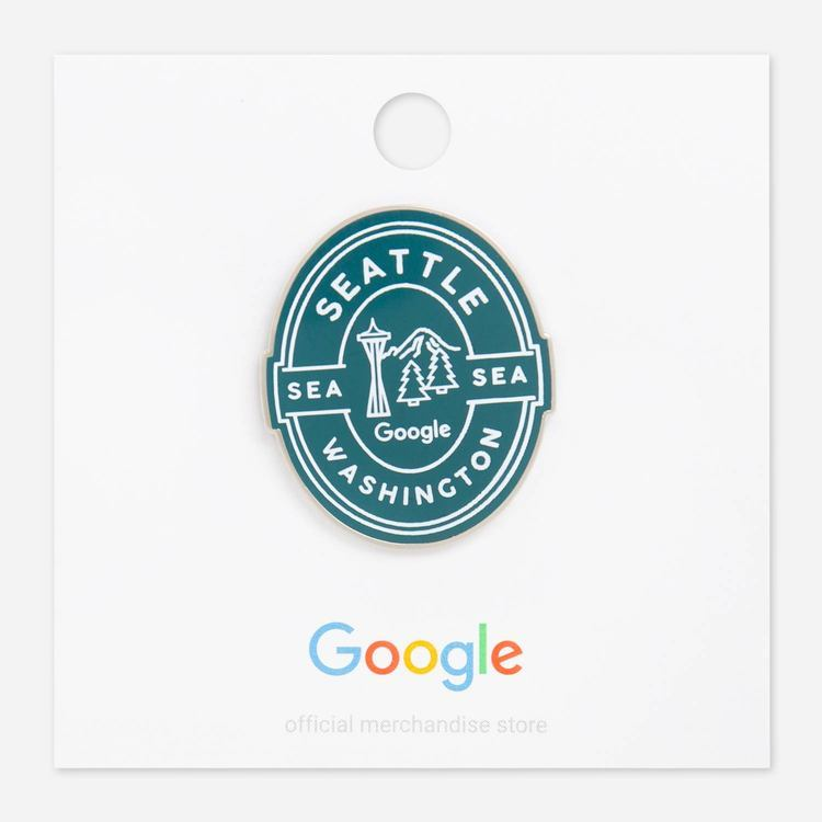 Review Of Google Seattle Campus Lapel Pin $6.00