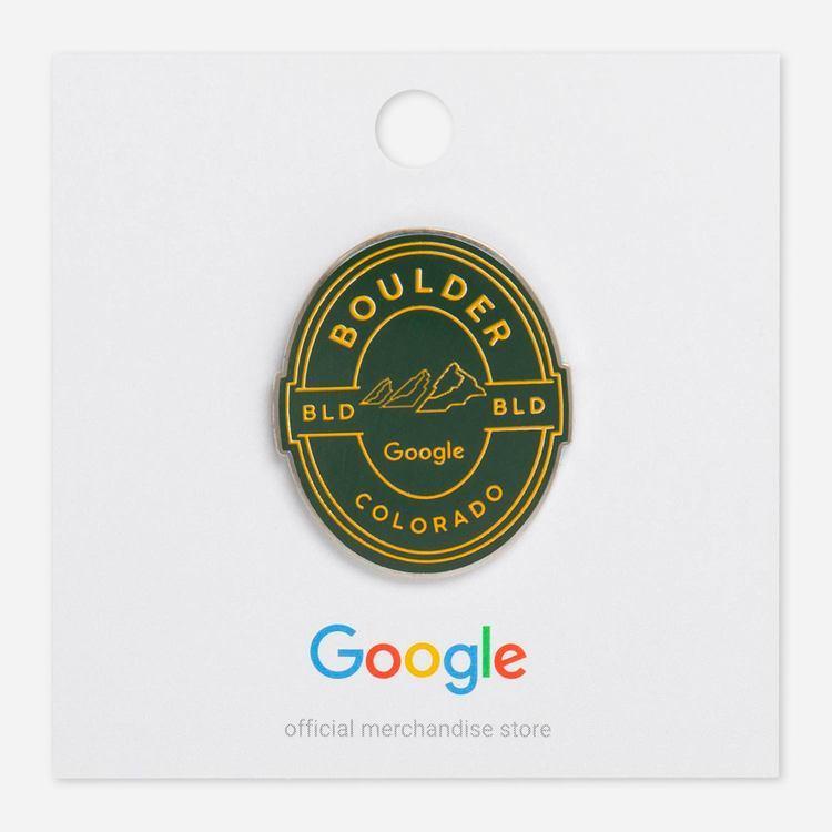 Review Of Google Boulder Campus Lapel Pin $6.00