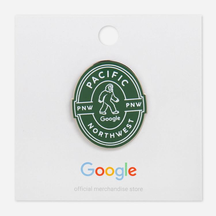Review Of Google PNW Campus Lapel Pin $6.00
