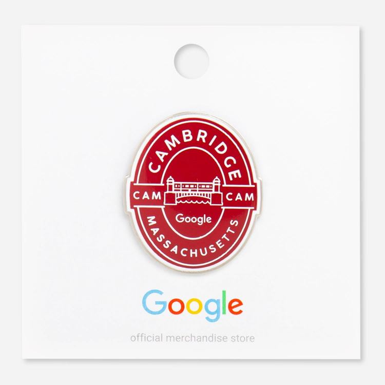 Review Of Google Cambridge Campus Lapel Pin $6.00