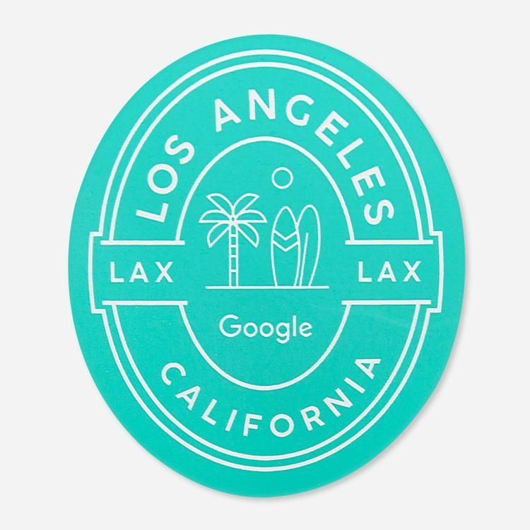 Review Of Google LA Campus Sticker $2.00