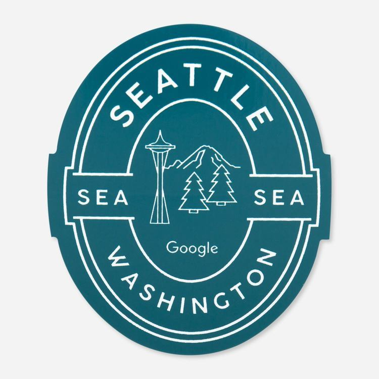 Review Of Google Seattle Campus Sticker $2.00