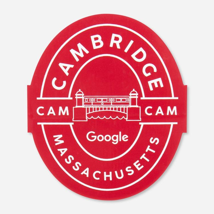 Review Of Google Cambridge Campus Sticker $2.00