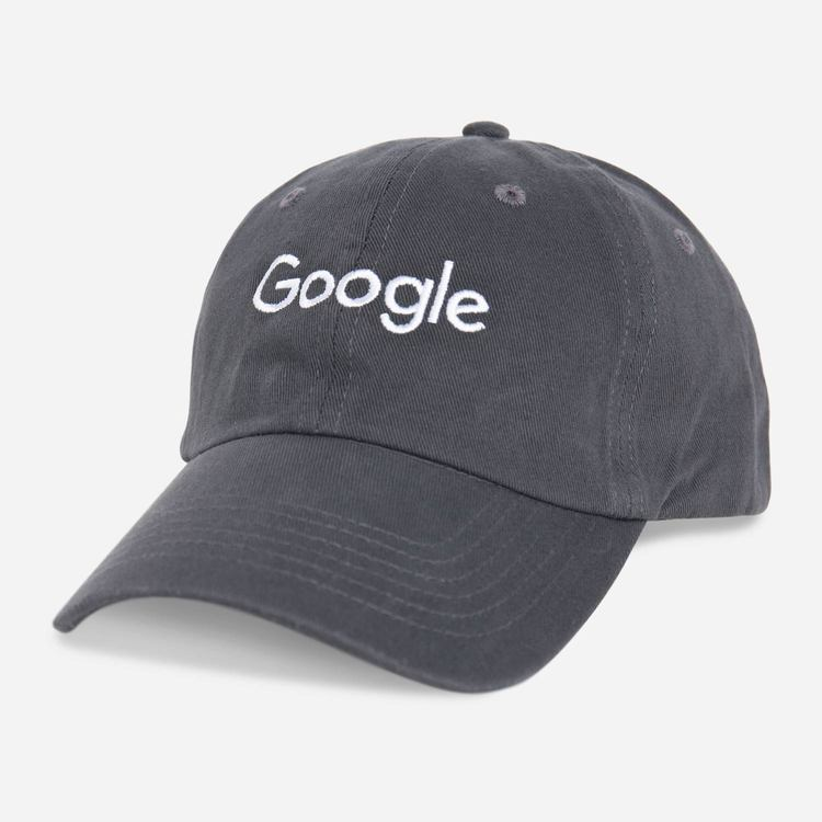 Google Twill Cap Charcoal 22538e58528