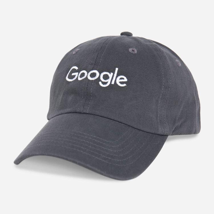 45f53f1f4f482 Google Twill Cap Charcoal