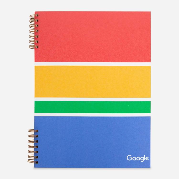 Review Of Google Color Block Notebook $12.00