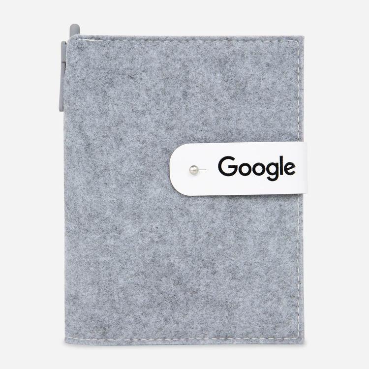 Google Felt Refillable Journal $19.60