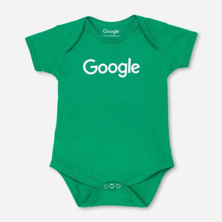 Google Standard Onesie Green d3855865d317