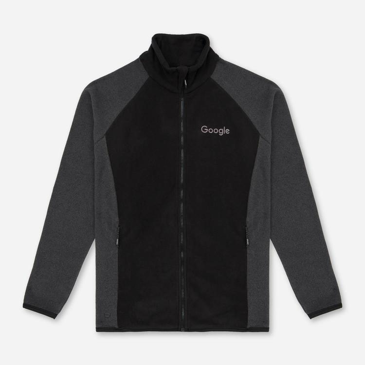 Review of Google Mens Microfleece Jacket Black $52.50
