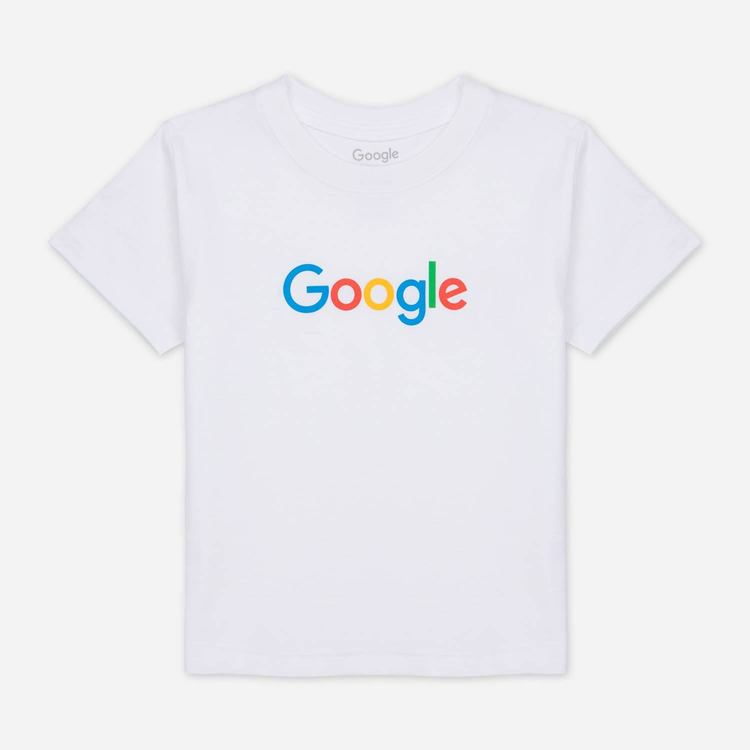 Review of Google Toddler Tee White $24.00