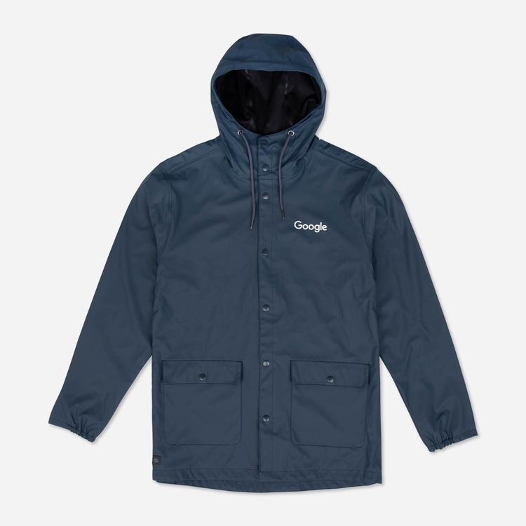 Review of Google Raincoat Navy $84.00
