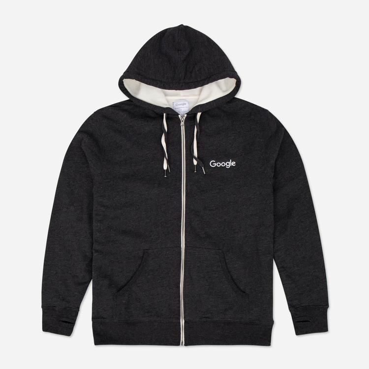 Review of  Google Sherpa Zip Hoodie Charcoal $48.30