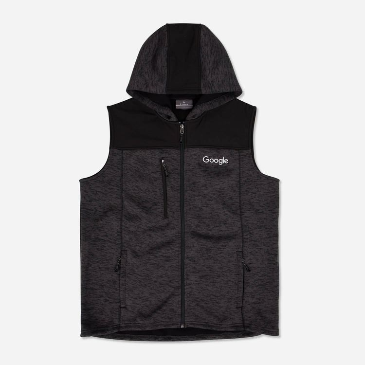 Review of Google Men's Tech Fleece Vest Charcoal $55.30