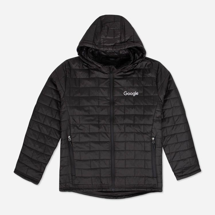 Review of Google Men's Puff Jacket Black $80.50