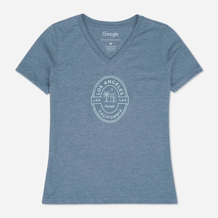 Review Of Google LA Campus Ladies Tee $25.00