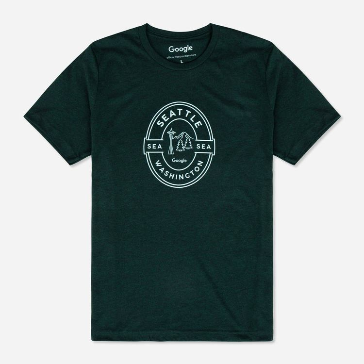 Review Of Google Seattle Campus Unisex Tee $25.00