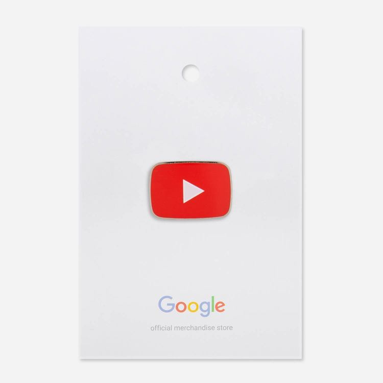 Review Of YouTube Iconic Play Pin $8.00