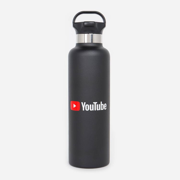 You25 Oz Gear Cap Bottle Black