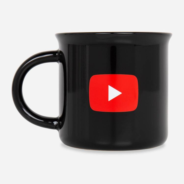 Review Of YouTube Play Mug $13.00