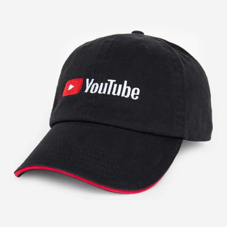 Review of YouTube Twill Sandwich Cap Black $13.00