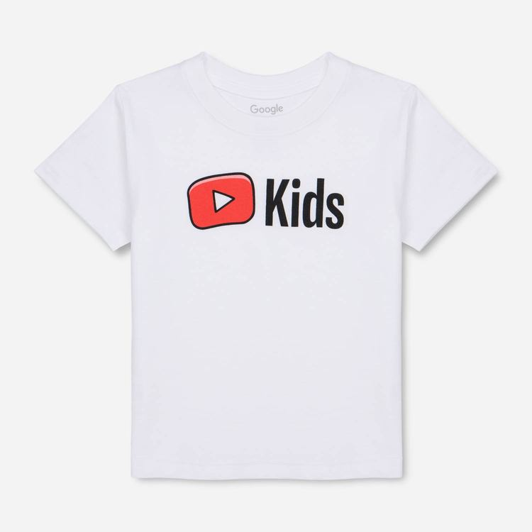 65ceba603470 YouTube Toddler Tee White