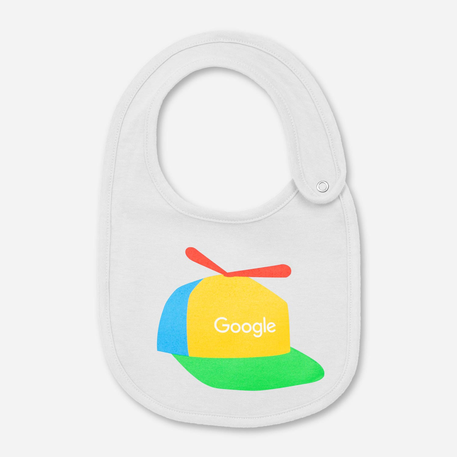 Keep your little Googler stain free with this Google Cappy Bib. 771eb7dcc87a