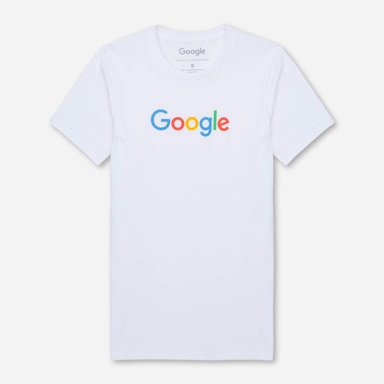 7fa42854 Google Tee White