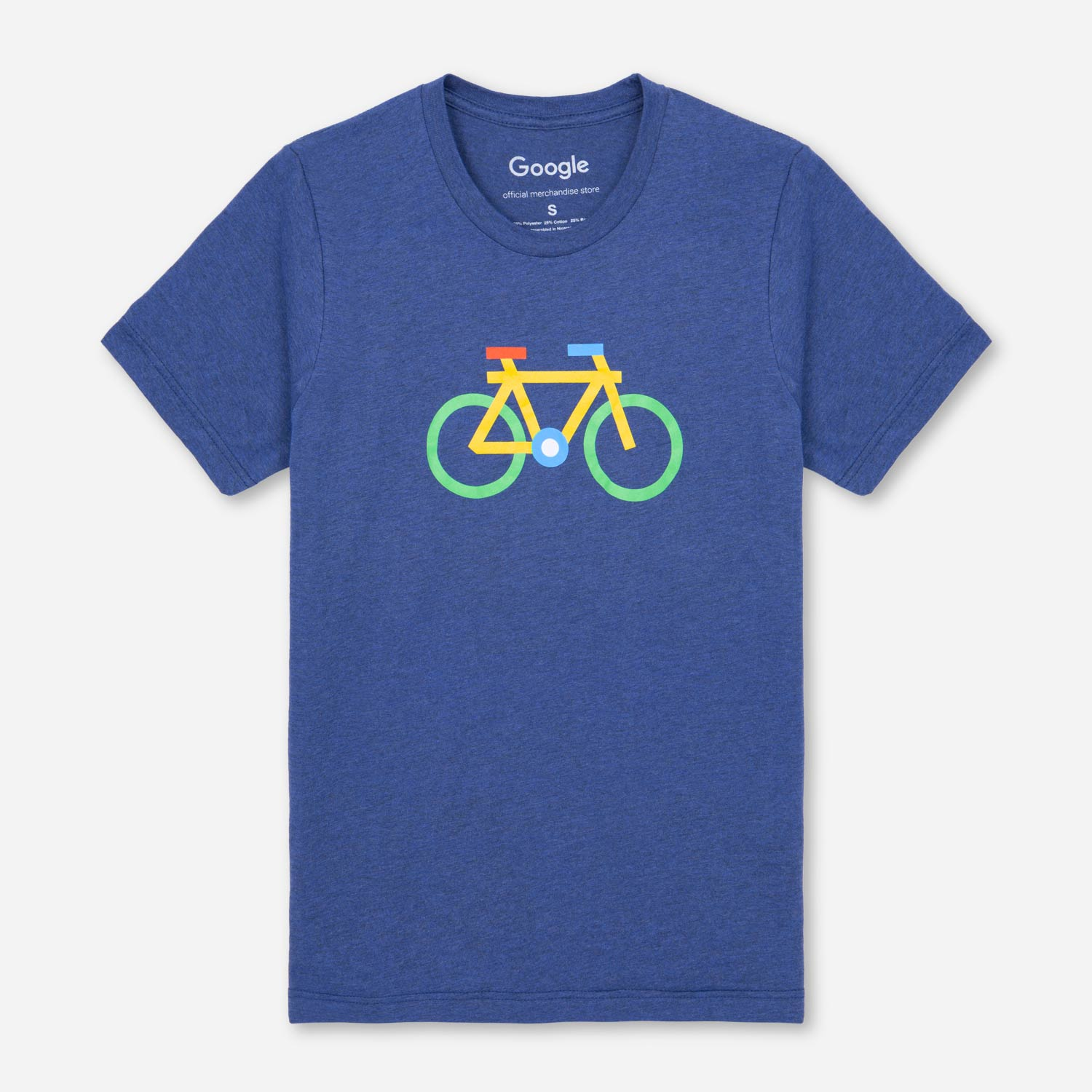 google bike tee navy  tshirts c 28 #15