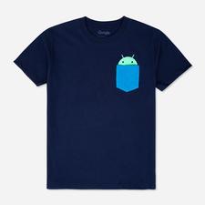 Android Pocket Tee Navy $29.00