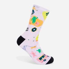 Google Mural Socks $15.00