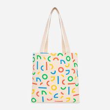 Google Confetti Tote White $13.00
