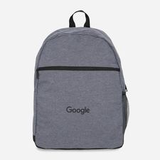 Google Flat Front Bag Grey $30.00
