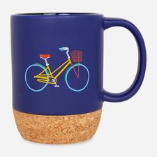 Google Campus Bike Corkbase Mug Blue $17.00
