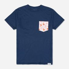 Flamingo and Friends Tee Blue