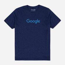 Google Navy Speckled Tee $30.00