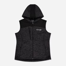 Google Women's Tech Fleece Vest Charcoal $55.30